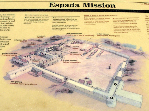 Floor Plan of a Texas Mission